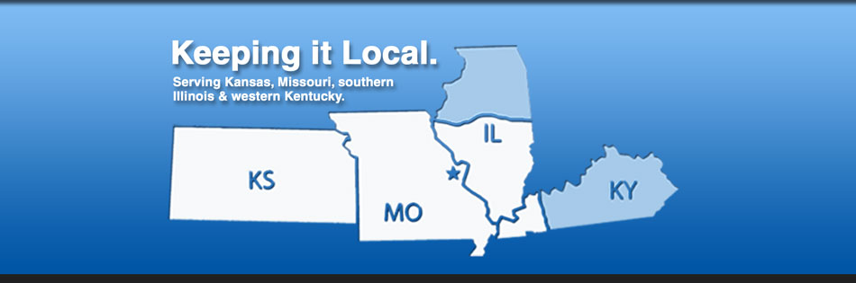 Now Serving Kansas, Missouri, Southern Illinois, and western Kentucky!