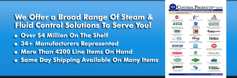 Broad Range of Steam and Fluid Solutions